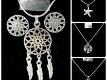 925 silver plated jewelry assorted lot summer 2021 offer REF: 154789