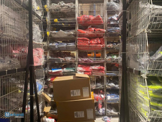Wholesale warehouse clearance | Stock of branded clothing and footwear