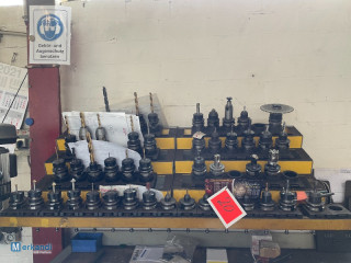 Auction: Lot of various tool holders, etc.