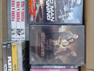 VARIOUS CD / DVD WITH NEW AND OLD MOVIES / MUSIC