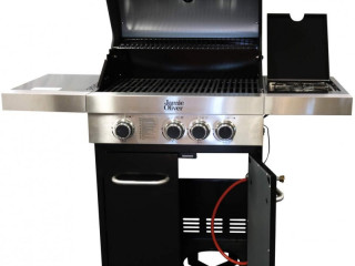 Jamie Olivier stock gas grill 115 pieces