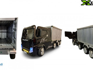 XTREMMOTOSPORT 12 VOLT SINGLE SEATER CONTAINER TRUCK