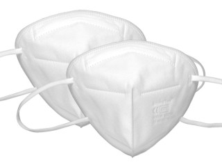 FFP2 masks white ✔️ 5 layers ✔️ CE0370 ✔️ individually packed