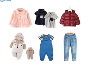 Container – branded Kids clothes