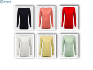 Ladies long sweater remaining stock with selection