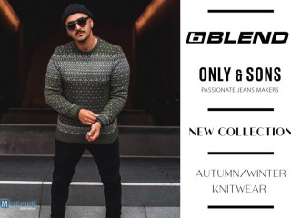 BLEND AND ONLY&SONS MEN'S KNITWEAR COLLECTION - FROM 5,60 EUR / PIECE