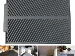 SILICONE DRYING MAT DRAINER