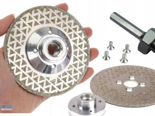 Diamond blade for chamfering, grinding and cutting stoneware 115mm M14
